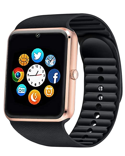Amazon.com: ANCwear Bluetooth Smart Watch Android iOS ...