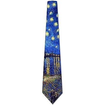 Corbatas Arte Corbatas Hombres S Van Gogh Rhone Pintura Corbatas ...