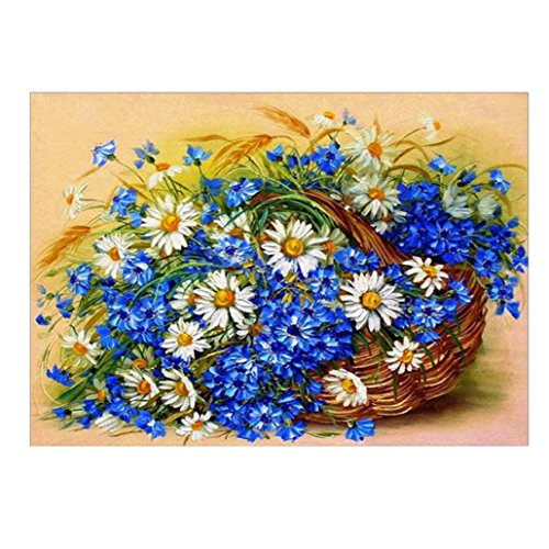 - Gotd 5D Embroidery Paintings Rhinestone Pasted DIY Diamond painting Cross Stitch (Style 1)