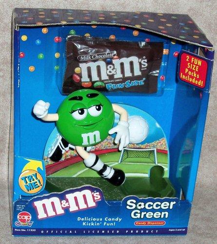 Amazon.com: M & M s Edición – Fútbol (Verde) Candy ...