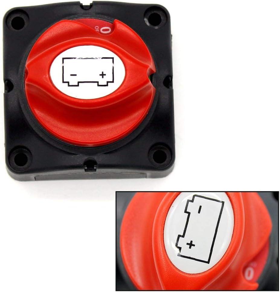 600A Bemessungsstrom Autobatterie Netzschalter Batteriestrom Schutzschalter Batterie Autotrennschalter Trennschalter