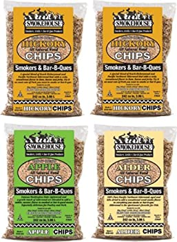 4 Pack Smokehouse Products Assorted Chips