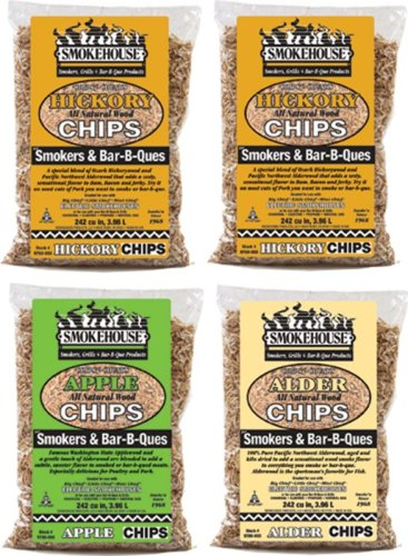 Smokehouse Products Assorted Chips, - Smoking Meat Chips