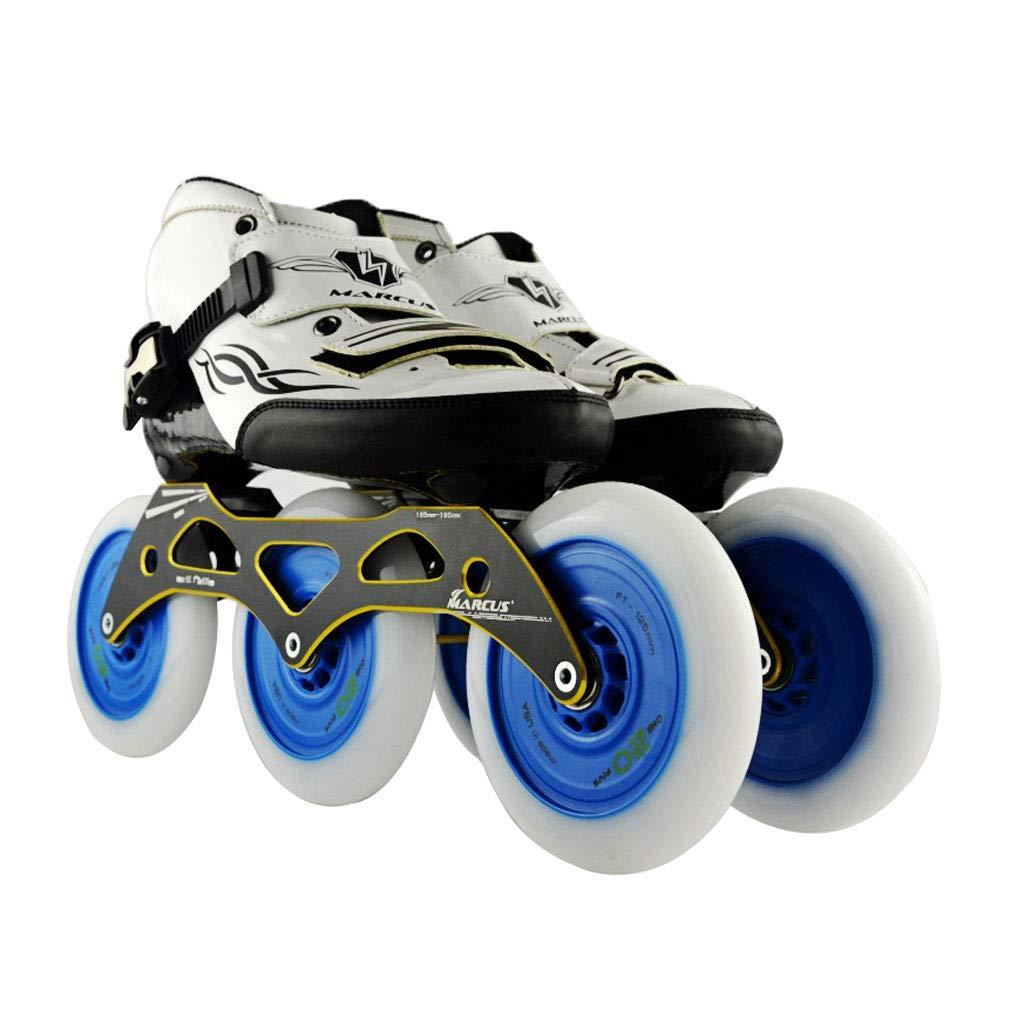ailj スピードスケート靴3 125MM調整可能なインラインスケート 上等 ストレートスケート靴 3色 色 : Pink サイズ さいず EU 46 12 日本 US 28cm 白 B07HVVXFF3 11 27.5cm UK 45 13 JP