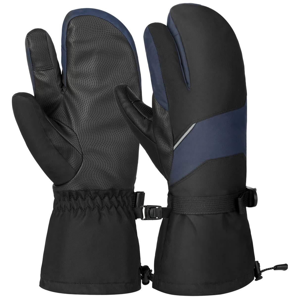 VBIGER Gants Ski Hiver Chaud Moufle Sport Velo pour Hommes Femmes product image