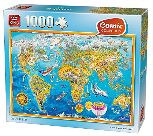 2 opinioni per King Comic Collection World- puzzles (Traditional, Comics, Adults, Gerold Como,
