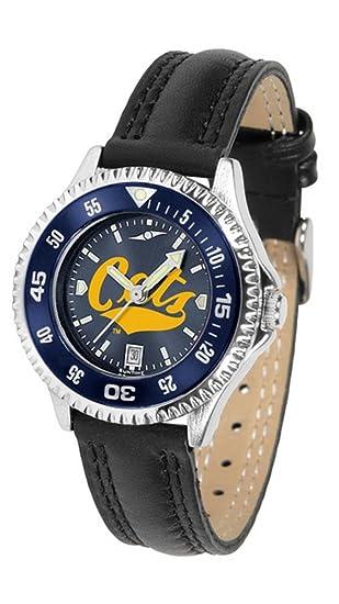 Montana State Bobcats Competitor - Reloj de pulsera para mujer, color bisel: Amazon.es: Relojes