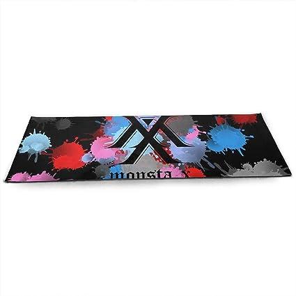 Amazon.com : Quxiangy Monsta X Kpop Yoga Mat - Pro Yoga Mat ...