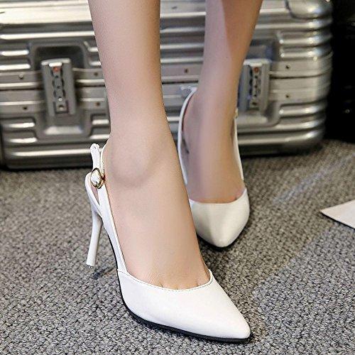 Escarpins De Lady Hauts Ont Boucle Sandales Confortable Soirée srhQtdC