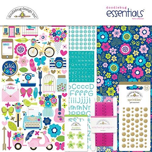 Doodlebug 6002 Hello Essentials Kit