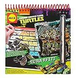 ninja turtle arts and crafts - Teenage Mutant Ninja Turtles Scra-ffiti Scratch Art