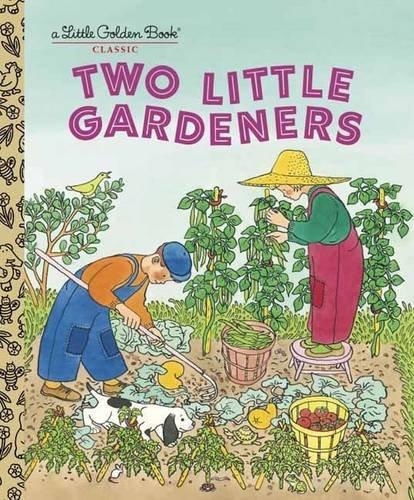 Two Little Gardeners (Little Golden Book)