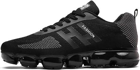 HDWY Los Hombres De Otoño De Confort Transpirable Alta Elasticidad Zapatos Resistentes Al Desgaste Zapatillas De Correr Transpirable,Black,43: Amazon.es: Deportes y aire libre