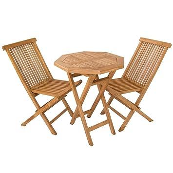 Edenjardi Conjuntos muebles para terraza en teca - Portes Gratis ...