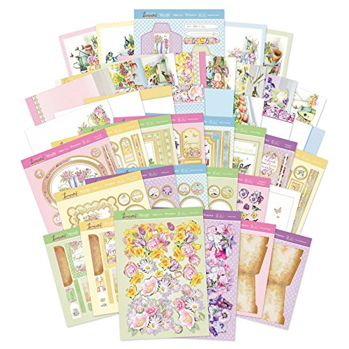 - Hunkydory Garden Treasures Luxury Collection with 8 Topper Sets & 2 Specialty Card Kit