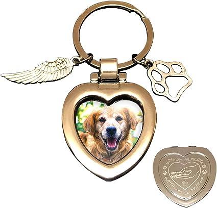 Dog Memorial Keychain BFF Jewelry Pet Memorial Keychain Pet Sympathy Dogs RIP keychain Personalized Pet keychain Monogrammed Keychain
