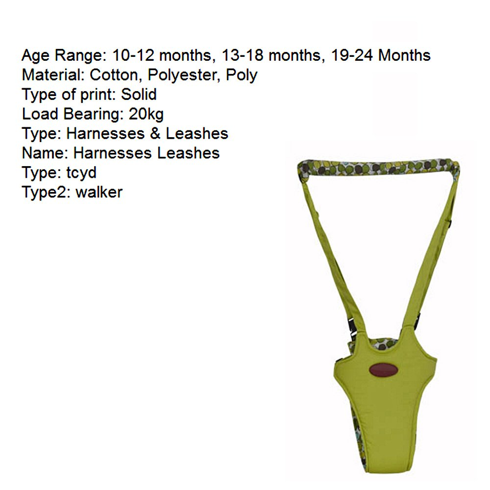 Baby Harness Hand Held Baby Walker Walking Aids For Baby Toddler,Safe Breathable Shopping Basket Type Line With Maternal,Safety First Baby Helper Infant Walker Learn To Walk Assistant For Boys Girls