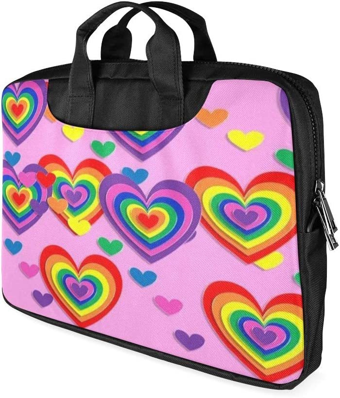 13 Inch Party Birthday Valentine Day Celebration Laptop Bag for Men with Handle Lightweight Briefcase for Laptop Fits MacBook Air Pro