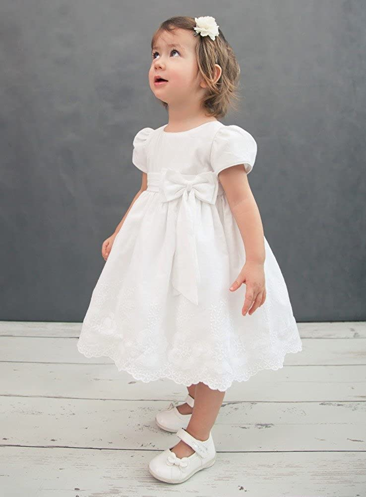 Boutique-Magique Baby Girls Christening Gown