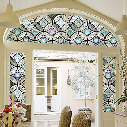 Window Treatments Dktie Static Cling Decorative Window Film Vinyl Non Adhesive Privacy Film Stained Glass Window Film Was Listed For R590 00 On