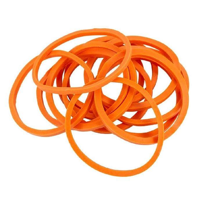 Bolsa de 1000 estándar # 12 Naranja bandas de goma para máquinas ...