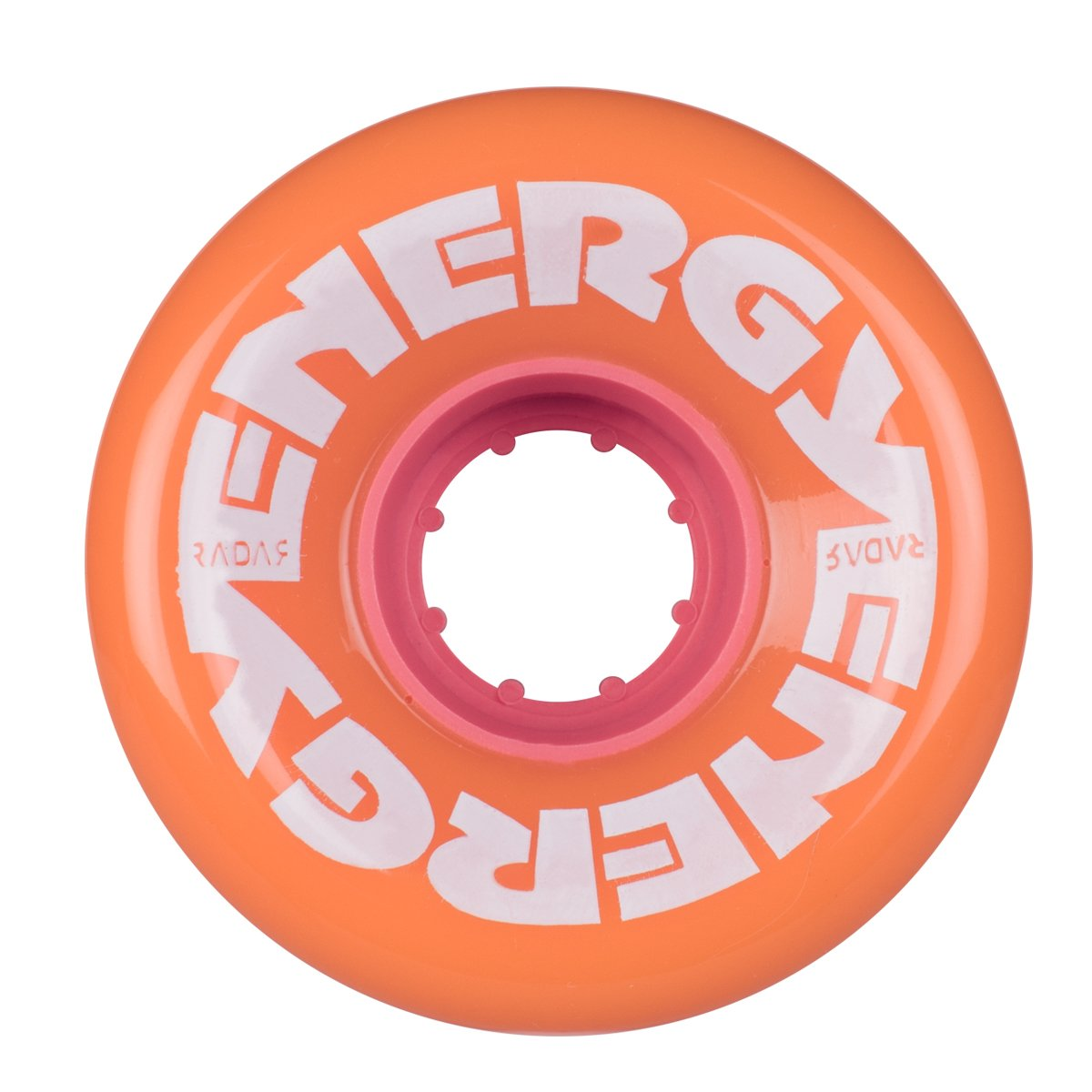Riedell Energy Quad Outdoor Skate Wheels 62mm - 8 Pack (Peach)