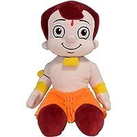 Chhota Bheem Plush Toy - Sitting Pose, Yellow/Orange (30cm)