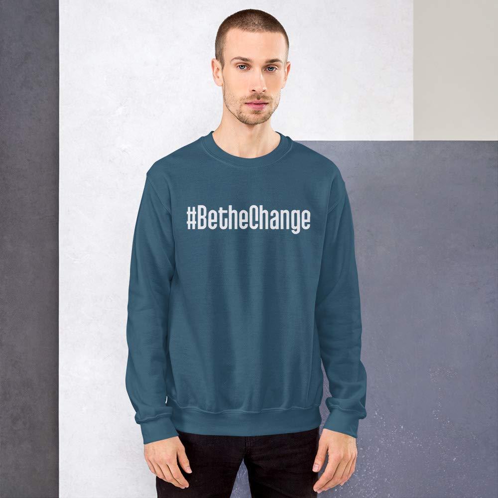 STFND #BetheChange Sweatshirt Indigo Blue