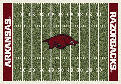 Arkansas Razorbacks 3 '25,4 cm X 5' 10,2 cm Home Field Bereich Teppich von Milliken