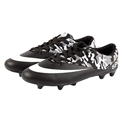 704ba5fa900 iFANS Men Athletic Outdoor Indoor Comfortable Soccer Shoes Boys Football  Student Cleats Sneaker Shoes Black