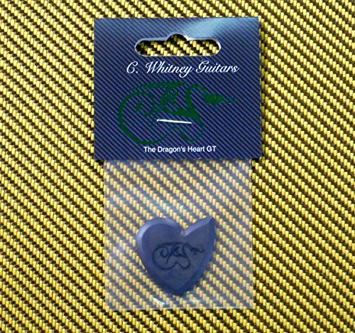 GT Dragon's Heart Guitar Pick - 1400 Hours of Durability, 2.5mm Thickness, Single Pack by Dragon's Heart Guitar Picks (Image #1)