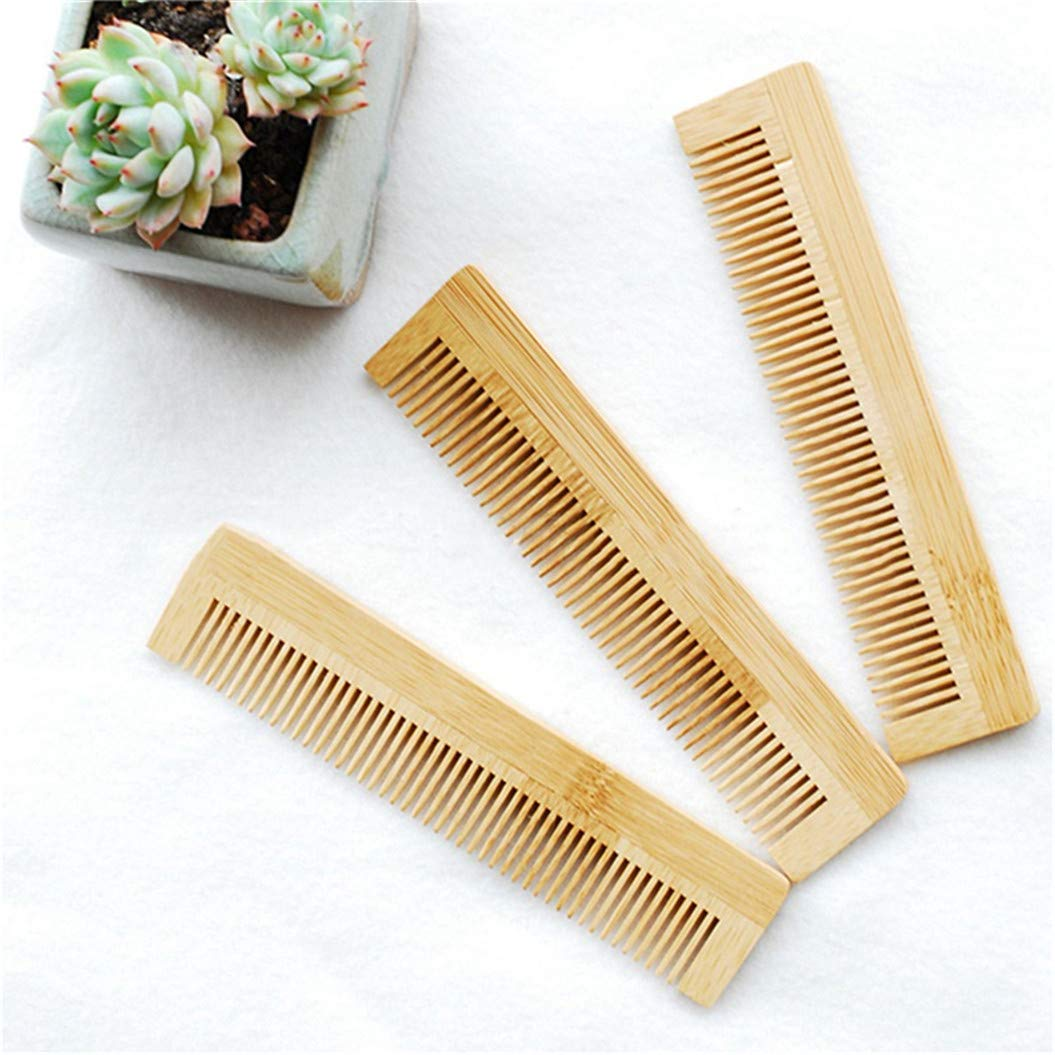 LZIYAN Bamboo Disposable Comb Hotel Hair Comb Fine Tooth Detangling Tool Hair Care Accessories by LZIYAN (Image #7)