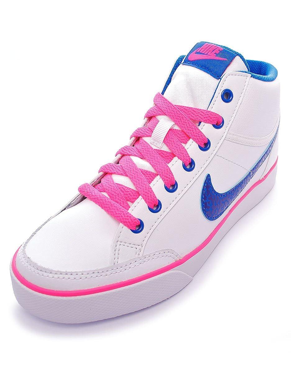 quality design 9356d 780f8 Nike Capri 3 Mid Leather (GS) mixte adulte, cuir lisse, sneaker high, 36  EU: Amazon.fr: Chaussures et Sacs