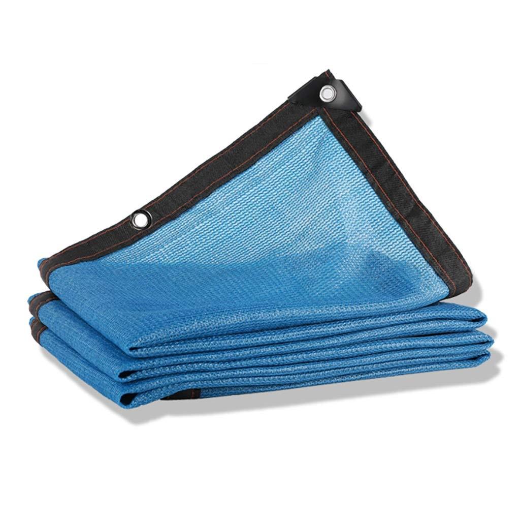 の青い8ピン暗号化ポリエチレンの日よけの庭の農業の日焼け止めの網。 (サイズ さいず : 6×7m) B07RLT4XJ3  6×7m