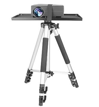 WER Soporte de trípode para proyector con soporte para trípode de ...