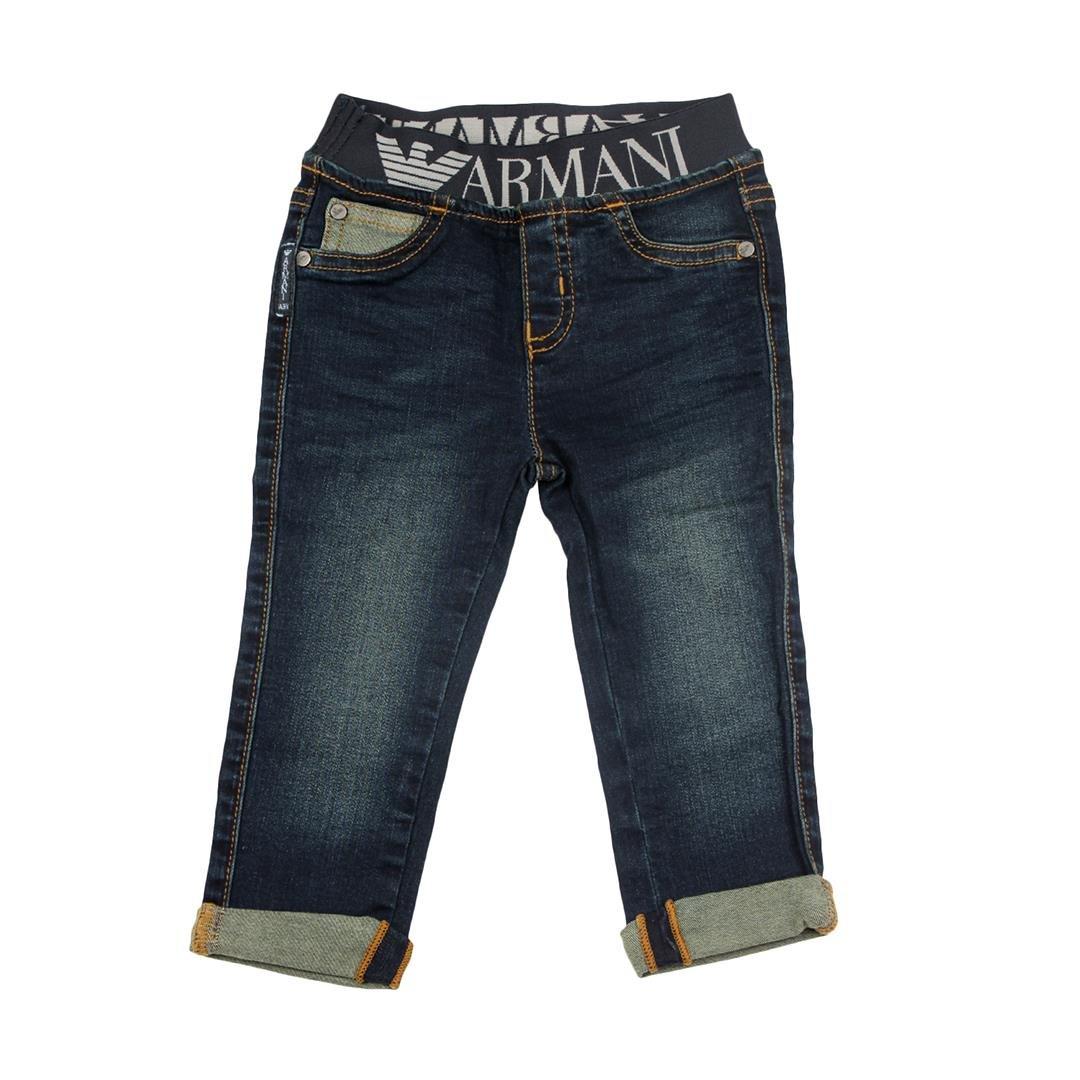 Armani Junior Jeans 5 Tasche Bambino Baby Boy MOD. 6YHJ07