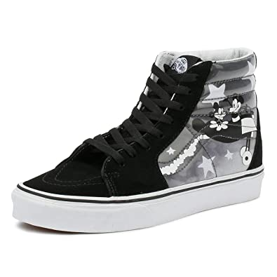 3123205ed2b11e Vans Mens U SK8 HI (Disney) Plane Crazy True White Size 13  Amazon ...