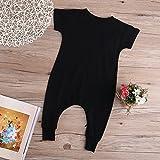 Baby Boy Girl Romper Bunny Print Short Sleeve