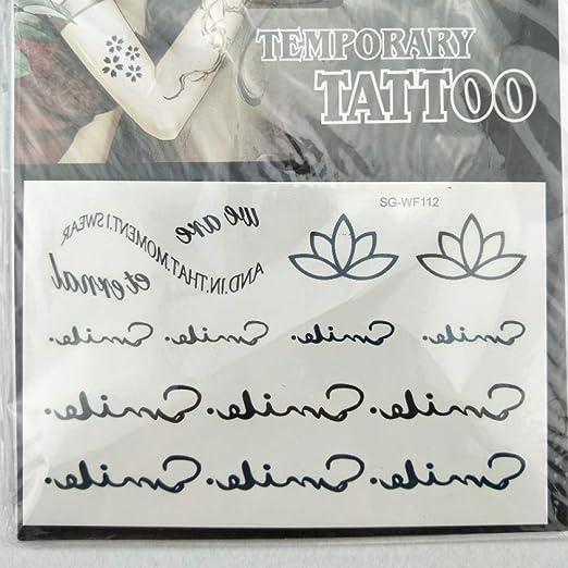 tzxdbh 10pcs-Flower Arm Tattoo Sticker Impermeable Taro Wild Beast ...