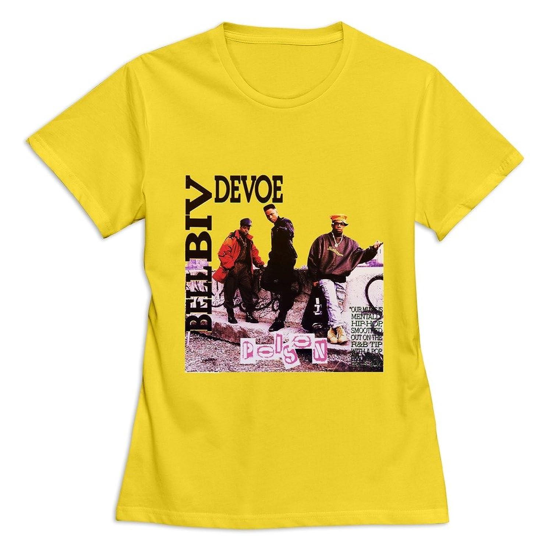 Amazon Soulya Womens Bell Biv Devoe T Shirt Size Us White