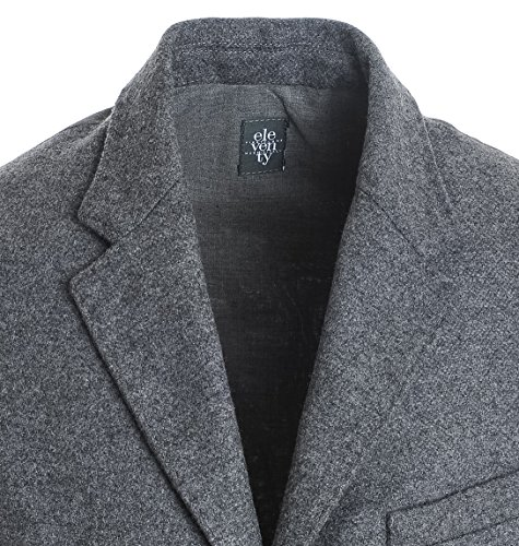 Eleventy Herren 979GL0007PAN2001014 Grau Wolle Weste