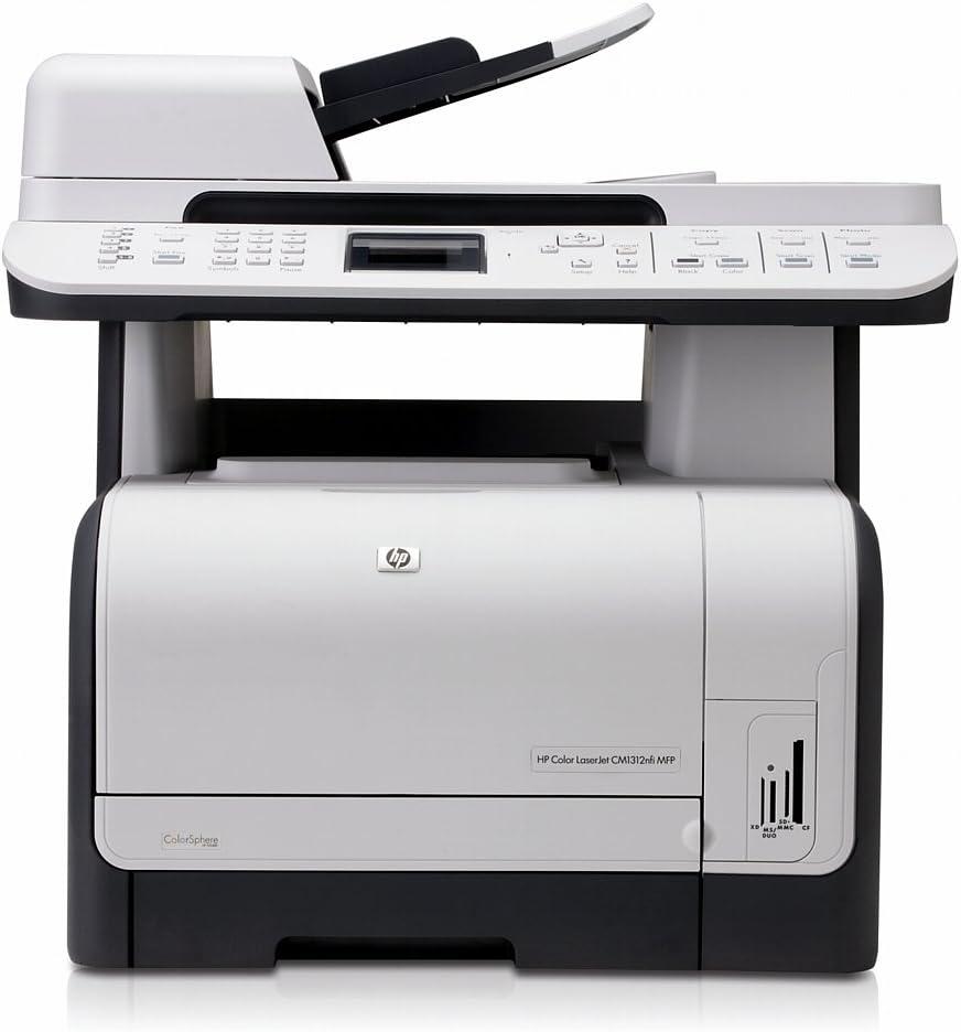 Hp Color Laserjet Cm1312nfi Multifunktionsgerät Mit Fax Computer Zubehör
