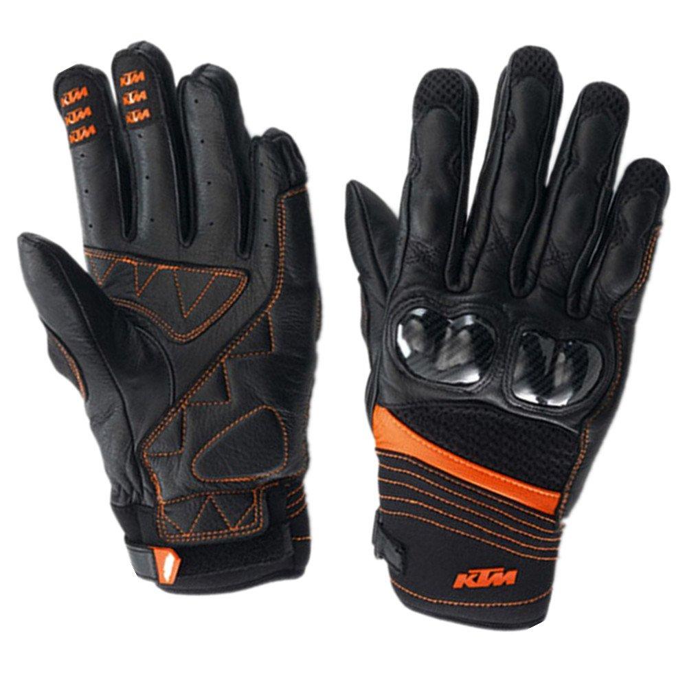 Baoffs Motorrad-Fahrradhandschuhe Radfahren Vollfinger Handschuhe für Motorrad Klettern Wandern Jagd Outdoor Sports Gear Handschuhe für Radfahren Klettern im Freien (Größe   L)