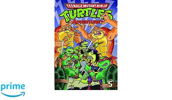 Teenage Mutant Ninja Turtles Adventures Volume 5: Amazon.es ...