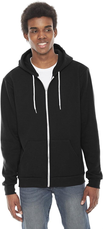 American Apparel Unisex-Adult Unisex Flex Fleece Zip Hoodie Hooded Sweatshirt
