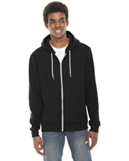 8e09e5f9ba6 Amazon.com  American Apparel Men s Unisex Flex Fleece Zip Hoodie ...