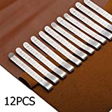 KINGSO 12 Pcs 3'' Stainless Steel Ruler Hemming Clips Measure Clip Hemmer No Pin Hem Clip Marking Ruler Guides Inch Silver