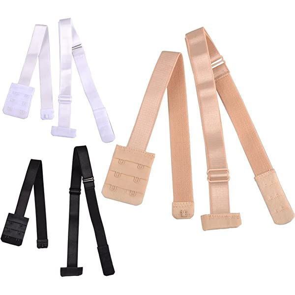 YOYOSTORE 1pcs Women Low Back Bra Converter Adjustable Strap Extender for Backless Dresses and Tops with 2 Hooks Nude