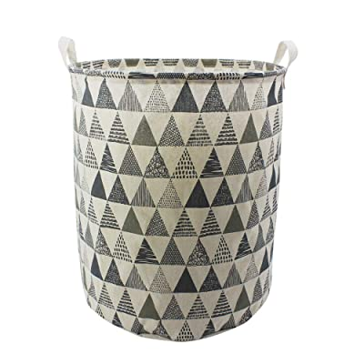 Foldable Washing Clothes Laundry Basket Toys Hamper Storage Bag Organizer Gery