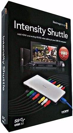 Blackmagic Design Intensity Shuttle Thunderbolt Amazon Co Uk Computers Accessories